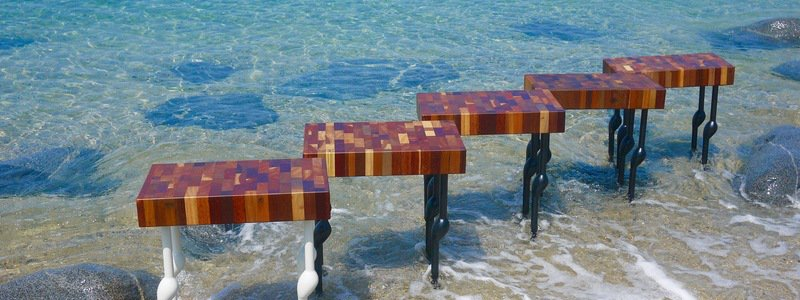 Turning Reclaimed Wood into Works of Art