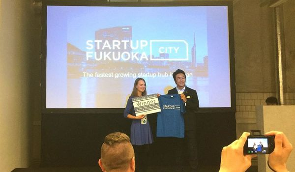 Congratulations to Fukuoka Award winners, Gelatex. Great pitch at Latitude59!
