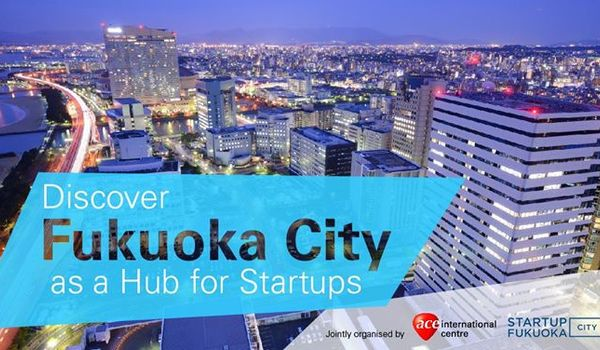 [9/28 ACE x FUKUOKA Pitching event in Singapore] On September 28th, Fukuoka City and Singapore ACE will host a startup pitching event in Singapore! We are also having networking there! We look forward to having you join us!