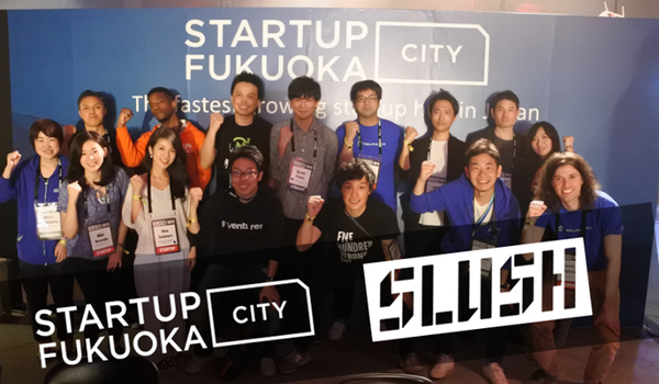 Join Startup Team Fukuoka at Slush Tokyo! We'll have a booth at the event on February 22nd & 23rd with seven amazing Fukuoka-based startups. Stop by our booth to learn more about Fukuoka's startup community and the city's upcoming Smart East project.