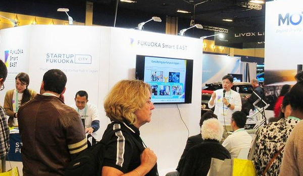 From January 7 – 10th, 2020, technology enthusiasts from around the world converged on CES in Las Vegas to learn about the latest innovations and cutting-edge projects. The Fukuoka Smart East (FSE) team generated a lot of buzz by making their first appear